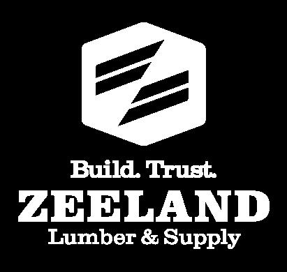 Zeeland Lumber Vertical White Logo