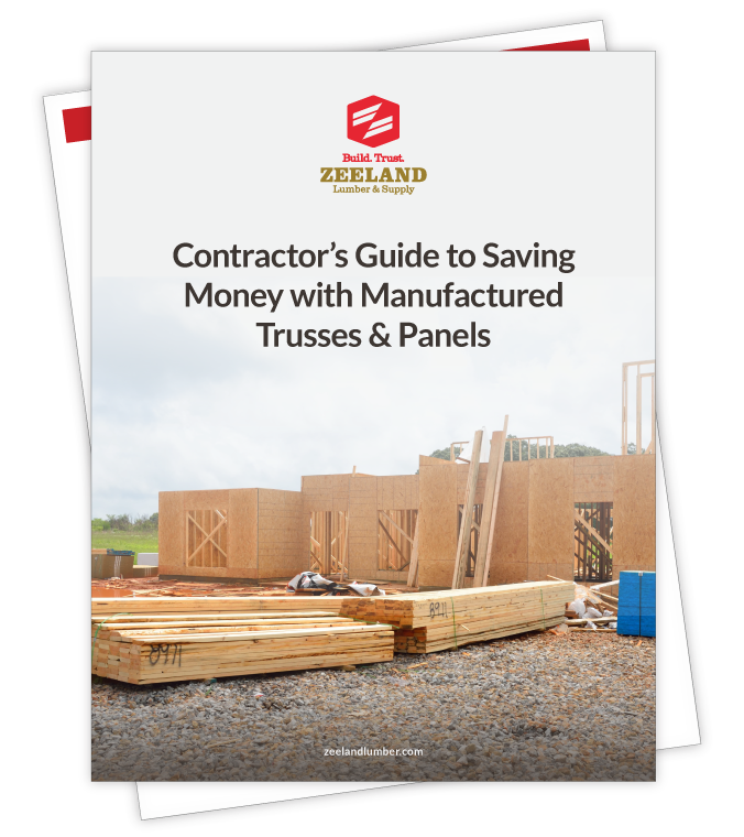 Contractors Guide to Saving Money with Manufactured Trusses