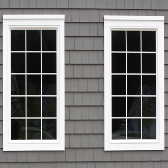 two identical windows